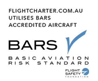 FlightCharter.com.au utilises BARS Accredited Aircraft