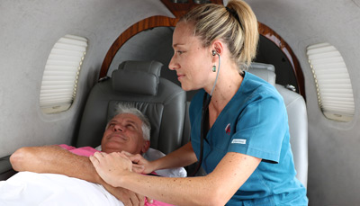 Chartering an aircraft for Medical Transport