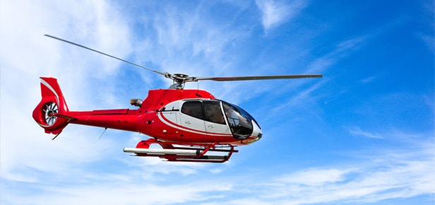 helicopter tours and helicopter hire