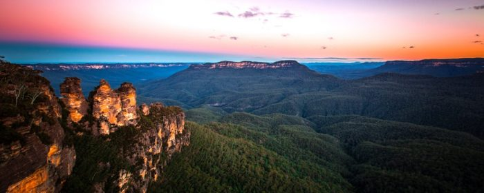 blue mountains helicopter tour