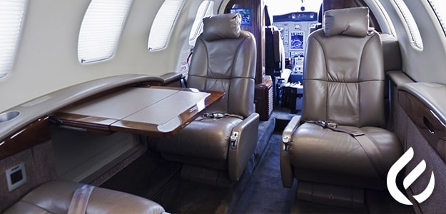 Chartered plane private flights for personal use
