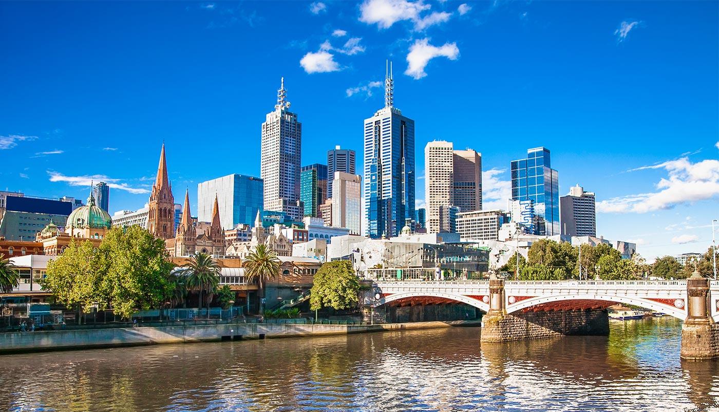 private jet to Melbourne Victoria