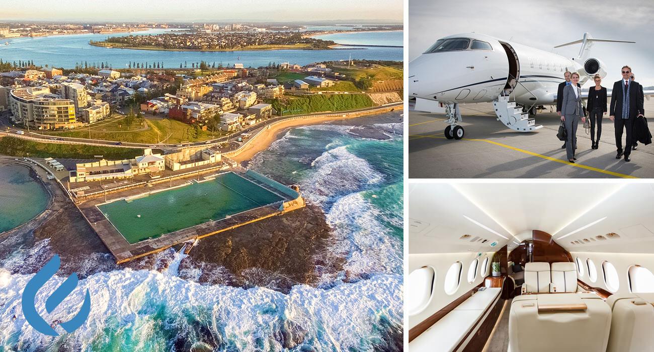 Newcastle Private Jet Hire