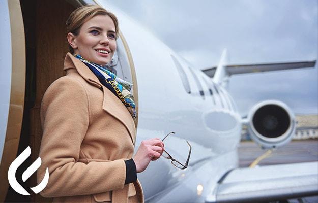 private charter flights versus first class flights